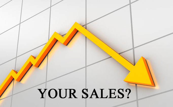 Problems with sales?